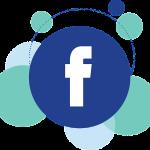 facebook ikon buborék